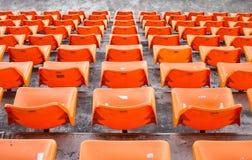 Orange chair Stock Photos