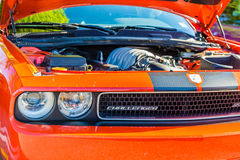 Orange Challenger Royalty Free Stock Images