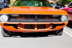An Orange Challenger Stock Photography