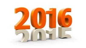 2015-2016 orange Stock Photo