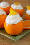 Orange Chantilly Cream Royalty Free Stock Photography