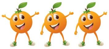 Orange Character Stock Photo
