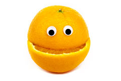 Orange Character Royalty Free Stock Photo