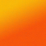 Orange check pattern Stock Photography