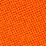 Orange Checkered Grunge Stock Images