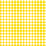 Orange checkered tablecloths patterns. Royalty Free Stock Photos
