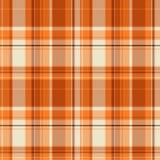 Orange checks. Vector cloth and fashion checks royalty free illustration
