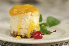 Orange Cheese Cake Royalty Free Stock Photo