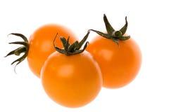 Orange cherry tomatoes Royalty Free Stock Photography