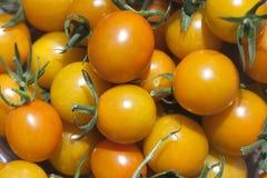 Orange Cherry Tomatos Stock Photo