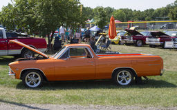 1966 orange Chevy El Camino Photographie stock