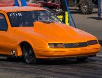 Orange Chevy Royalty Free Stock Photography
