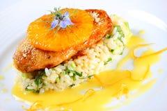 Orange chicken Stock Photography