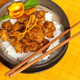 Orange Chicken Royalty Free Stock Images