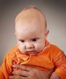 Orange child Stock Image