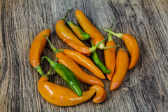 Orange chili pepper Royalty Free Stock Photography