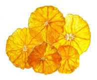 Orange chips Royalty Free Stock Photography