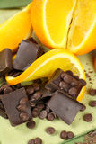 Orange And Chocolate Royalty Free Stock Images