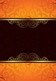 Orange Chocolate Background Royalty Free Stock Image