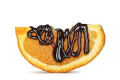 Orange and chocolate Royalty Free Stock Photos