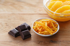 Orange and Chocolate Royalty Free Stock Photo