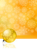 Orange christmas abstract background. EPS 8 Royalty Free Stock Photo