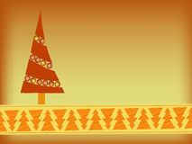 Orange christmas background Stock Photos