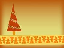 Orange christmas background Stock Photos