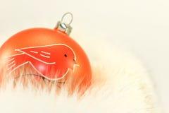 Free Orange Christmas Bauble Royalty Free Stock Photos - 22122898