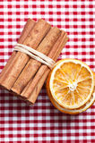 Orange and Cinnamon Stock Photography