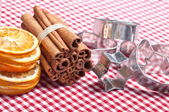 Orange and Cinnamon Stock Photos