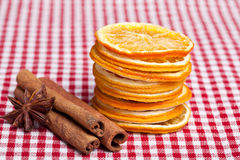 Orange Cinnamon and Anise Stock Photo