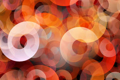 Orange circles Stock Photo