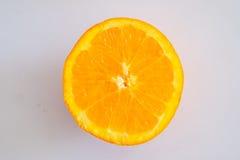 Orange circulaire Photo libre de droits