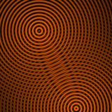 Orange circular shapes, abstract background Royalty Free Stock Photo