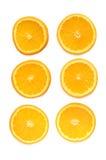 orange cirklar Royaltyfri Foto