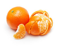 Orange citrus fruit, mandarin Stock Images