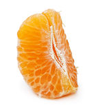 Orange citrus fruit, mandarin slice Stock Photography