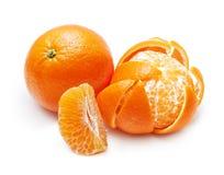Orange citrus fruit, mandarin Royalty Free Stock Images