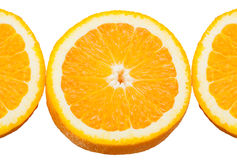 Orange citrus fruit Stock Photos