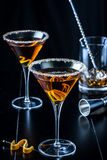 Orange Citrus Martinis Stock Image