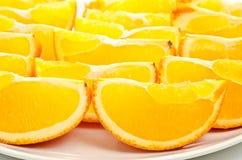 Orange classée par dégagement image libre de droits