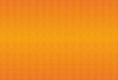 Orange classic background with swirls. Gold elements. Stock Photos
