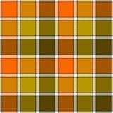 Orange clay marsh check plaid seamless pattern Stock Photos