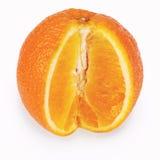 Orange (Clipping path) Stock Photo