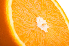 Orange close up Royalty Free Stock Images