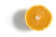 Orange close up. On a white background Stock Photo