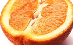 Orange close up. Bright food photo Royalty Free Stock Images