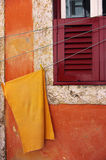 Orange Cloth Royalty Free Stock Images