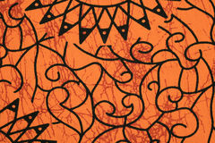 Orange cloth pattern Royalty Free Stock Image
